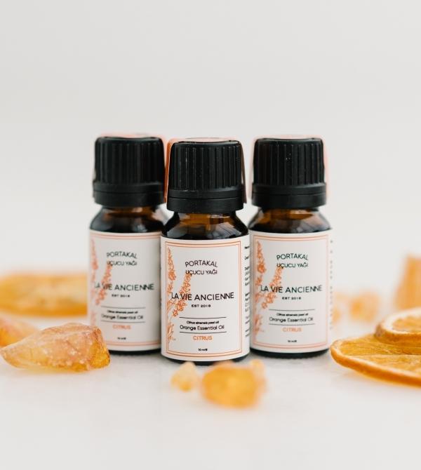 Portakal Uçucu Yağı