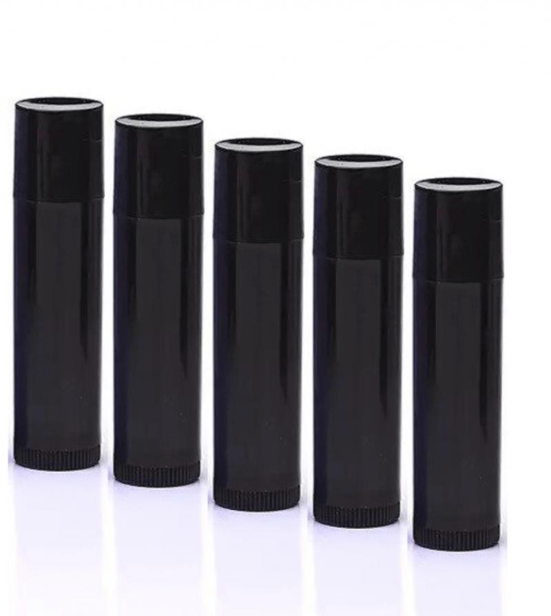 Siyah Lip Balm Tüpü 8 ml